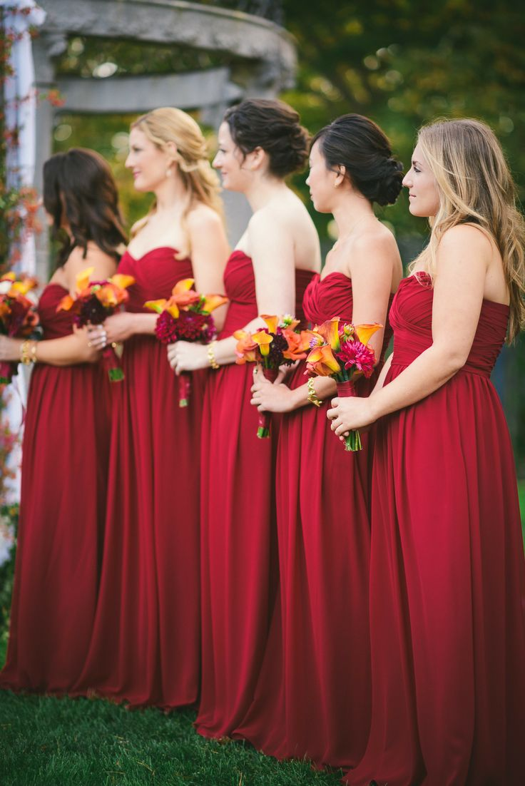 Red bridesmaids dresses under 100 being a perfect bridesmaid red bridesmaids dresses ombrellifo Images