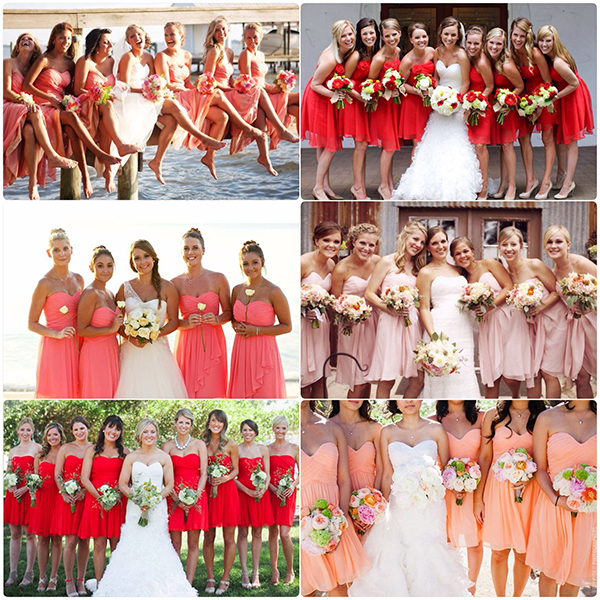 red bridesmaids dresses under £100 | being a perfect bridesmaid