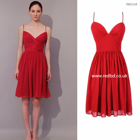 red bridesmaids dresses | Being A Perfect Bridesmaid