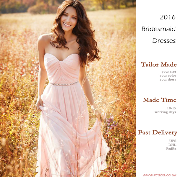 Christmas Wedding Bridesmaid Dress