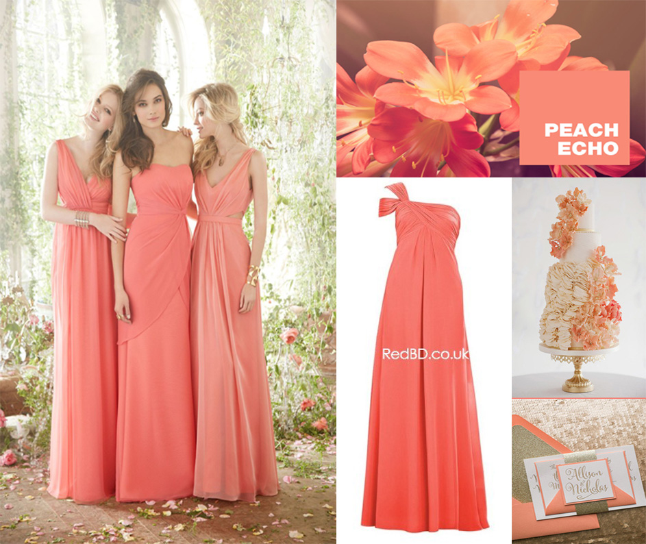 2016 Bridesmaid Dress Color Trends
