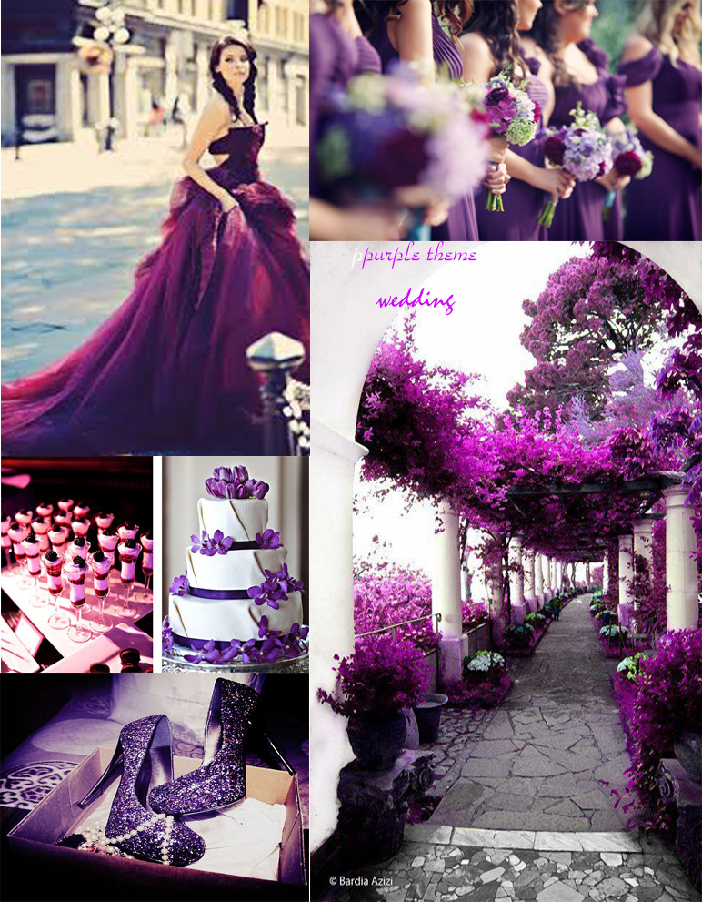 Purple Wedding Is One Of The Most Popular Colors