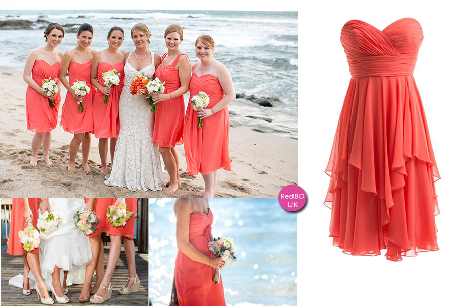 Chiffon Bridesmaid Dresses For Summer Beach Wedding Bridesmaids Being A Perfect Bridesmaid