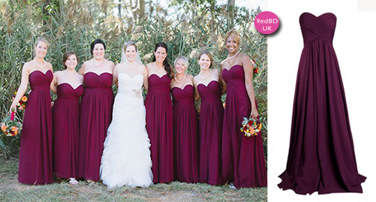 Bridesmaid dresses for plus size girls | Being A Perfect Bridesmaid