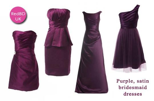 purple-bridesmaid-dresses-in-satin-fabric
