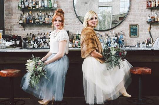 tulle-bridesmaids-dresses
